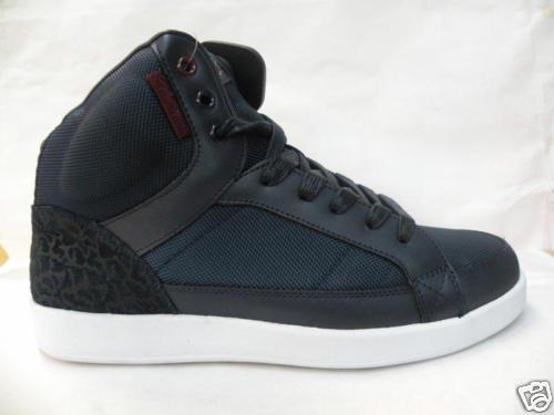 New Men's Cadillac Shoes (Retro Air Jordan) BLACK&BLUE