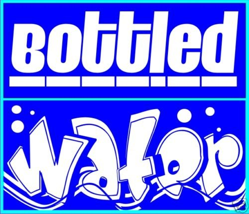 Bottled Water Decal