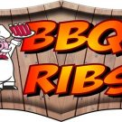 BBQ Ribs Decal