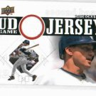 2010 Upper Deck Game Jersey David Eckstein San Diego Padres Baseball Card Game Used