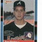 2008 Donruss 20th Anniversary Tom Glavine Serial #D / 1988 Atlanta Braves