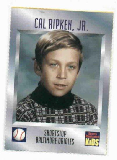 Sports Illustrated For Kids Cal Ripken Jr. Baseball Card Baltimore Orioles