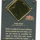 2002 Fleer Fall Classics Nolan Ryan Hall Of Fame Plaque #D /1999 New York Mets