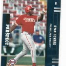 2005 Playoff Prestige Ryan Howard Rookie Card Philadelphia Phillies