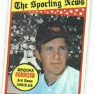 1969 Topps Brooks Robinson All Star VG++ Baltimore Orioles