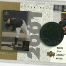 2002 Upper Deck Barry Zito Jersey Card ERROR #D / 275 Reverse Negative Oakland A's
