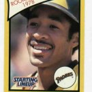 1989 Starting Lineup Ozzie Smith San Diego Padres Rookie Year Baseball Card Oddball