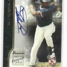 2002 Bowman Tony Blanco Autograph Baseball Card Boston Red Sox