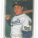 2007 Upper Deck Masterpieces Billy Butler Rookie Card Kansas City Royals