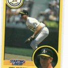 1991 Kenner Starting Lineup Mark McGwire Baseball Card Oakland A's