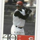 2003 Upper Deck 40 Man Ken Griffey Jr.SAMPLE Cincinnati Reds ODDBALL