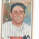 1987 Leaf Candy City Team Hall Of Fame Greats Yogi Berra New York Yankees Oddball