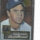 2002 Topps Chrome 1952 Reprint Hank Bauer New York Yankees Baseball Card