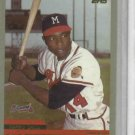2000 Topps Hank Aaron Atlanta Braves Baseball Card #44