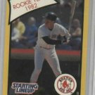 1989 Kenner Starting Lineup Wade Boggs Oddball Card Rookie Year 1982 Boston Red Sox