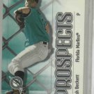 2000 Skybox Impact Josh Beckett Rookie Marlins Yankees