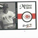 2003 Fleer Double Header Matinee Idols Tom Seaver Cincinnati Reds HOF