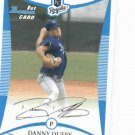 2008 Bowman Draft Picks Danny Duffy Kansas City Royals Rookie Card