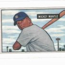 1989 Bowman Mickey Mantle New York Yankees