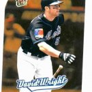 2005 Fleer Ultra All Rookie Gold Medallion David Wright New York Mets