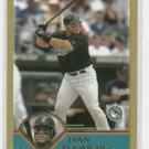 2003 Topps Traded Gold Ivan Rodriguez Baseball Card #D / 2003 Florida Marlins