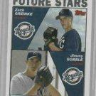 2004 Topps Zack Greinke Jimmy Gobble Rookie Card Kansas City Royals