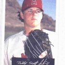 2002 Bowman Heritage Black Box Bobby Jenks ROOKIE Angels White Sox
