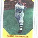 1960 Fleer Baseball Greats Rabbit Maranville Baseball Card