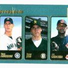 2000 Topps CC Sabathia Barry Zito Ryan Anderson Rookie Card