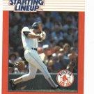 1988 Kenner Starting Lineup Wade Boggs Baseball Card Boston Red Sox Oddball