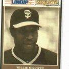 1989 Kenner Starting Lineup Baseball Greats Willie McCovey Baseball Card  Giants Oddball