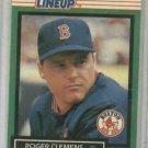 1989 Kenner Starting Lineup Roger Clemens Baseball Card Boston Red Sox Oddball