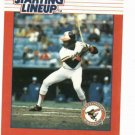 1988 Kenner Starting Lineup Eddie Murray Baseball Card Baltimore Orioles Oddball