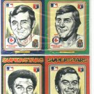 1975 Pee Wee Library Boston Red Sox Post Cards Fred Lynn Carl Yastrzemski  + 4 More RARE SET