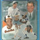 1982 Baseball Hall Of Fame Yearbook Travis Jackson Hank Aaron Frank Robinson