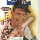 1990 Sports Illustrated Baseball Issue Ted Williams Cover Boston Red Sox