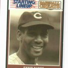 "1989 Kenner Starting Lineup Baseball Greats Ernie Banks ""Mr. Cub"" Baseball Card Oddball"