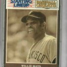 1989 Kenner Starting Lineup Willie Mays Baseball Giants Mets Card Oddball