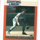 1988 Kenner Starting Lineup George Brett Baseball Card Kansas City Royals Oddball