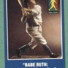 1994 Babe Ruth The 60th Home Run Oddball Baseball Card Yankees