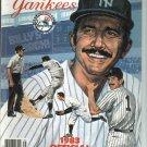 1983 New York Yankees Yearbook Billy Martin
