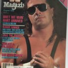 August 1998 WWF Magazine Brett Hart Cover WWE