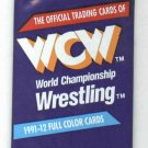 1991 WCW World Championship Wrestling Unopened Trading Card Pack Sting Ric Flair