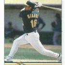 2009 Oakland A's Pocket Schedule Jason Giambi