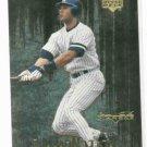 2000 Upper Deck Black Diamond DiamoNation Derek Jeter Insert New York Yankees