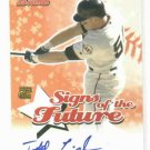 2004 Bowman Signs Of The Future Todd Linden Autograph San Francisco Giants ROOKIE