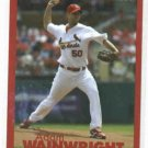2010 Fox Sports Midwest Adam Wainwright St. Louis Cardinals Baseball Card