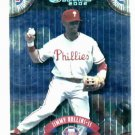 2002 Donruss Career Stat Line Jimmy Rollins #D / 278 Philidelphia Phillies