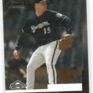 2004 Leaf Press Proof Ben Sheets #D / 50 Milwaukee Brewers