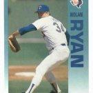 1992 Fleer Citgo 7-11 The Performer Collection Nolan Ryan Oddball Rangers
